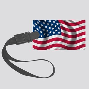 usflag Large Luggage Tag